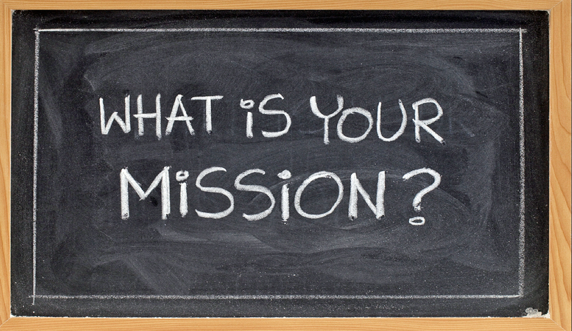A Personal Mission Statement for 2016