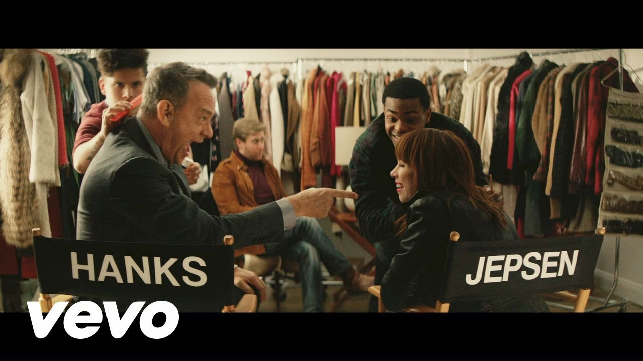 Tom Hanks at his CUTEST in Carly Rae Jepsen's music video!