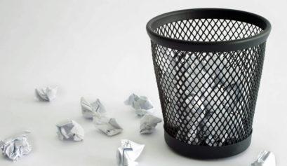 Hi tech garbage bins, kitchen