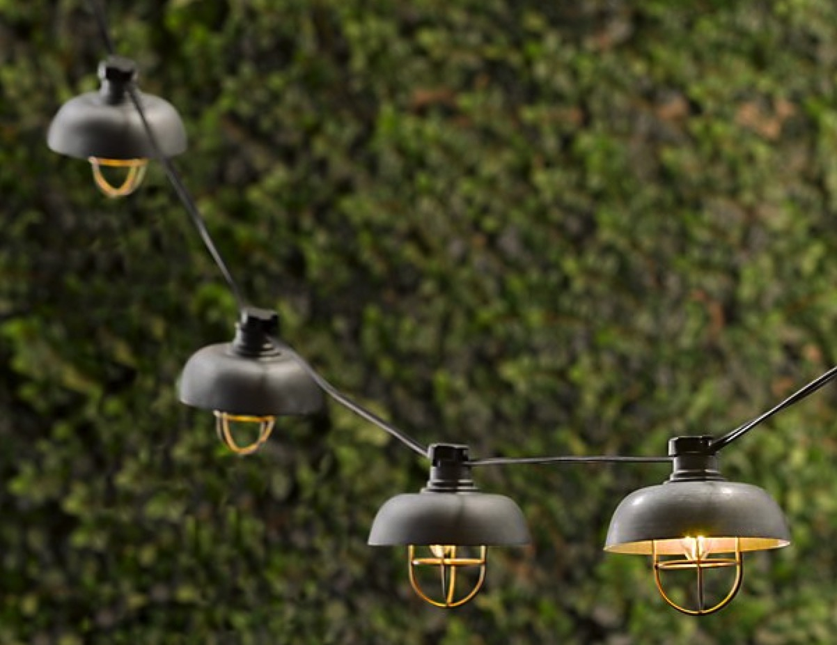 Outdoor String Lights Restoration Hardware : 14 Party String Lights Ideas - A Sharp Eye