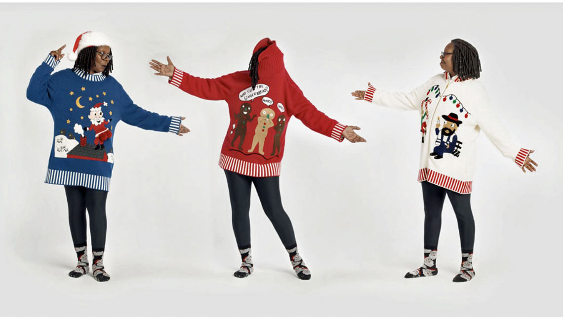 Whoopi's Ugly Sweaters