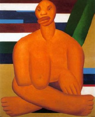 A Negra, 1923 Tarsila Amaral