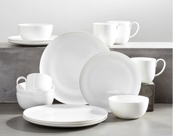 New dishes Pottery Barn