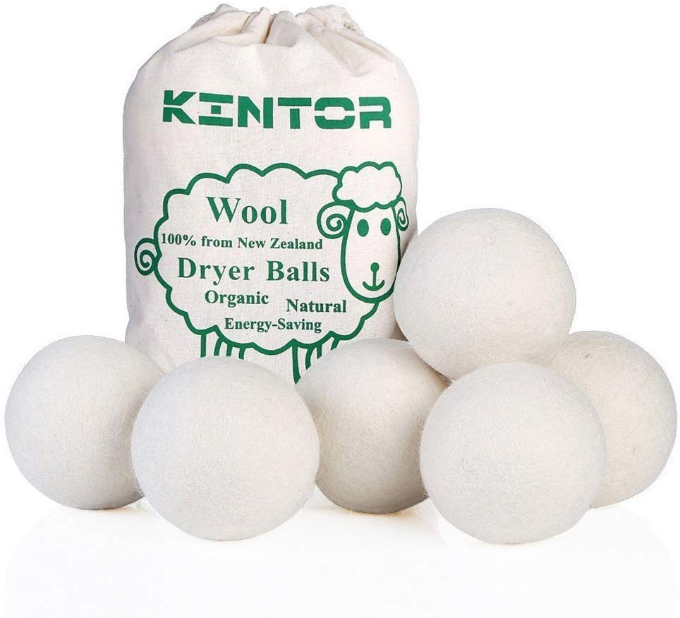 Healthy household cleaning dryer balls
