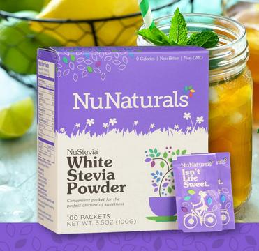 Nunaturals stevia powder