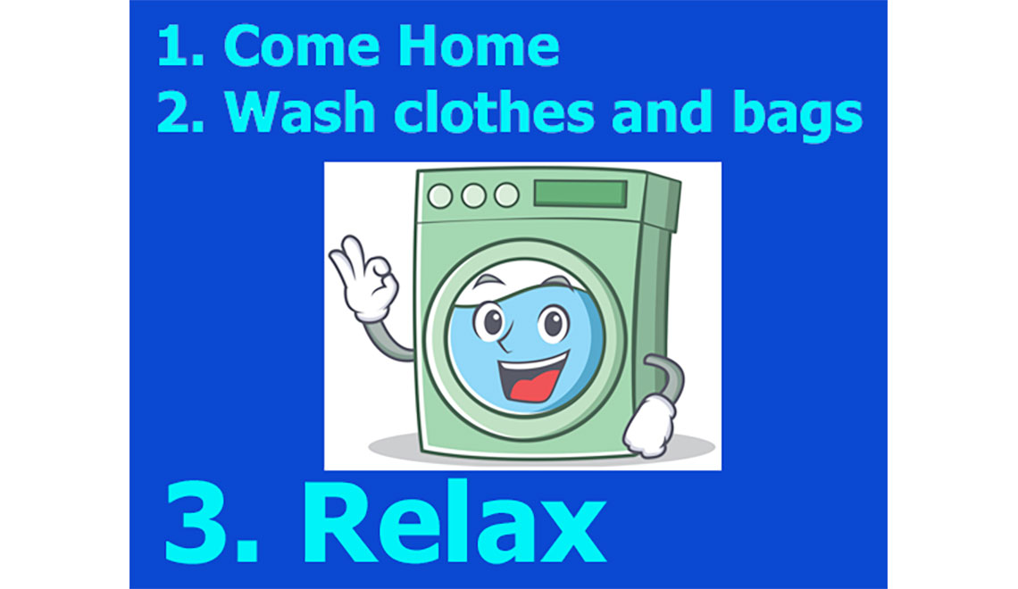 Machine washable clothes and bags
