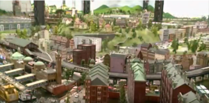 Hamburg's minuture wonderland