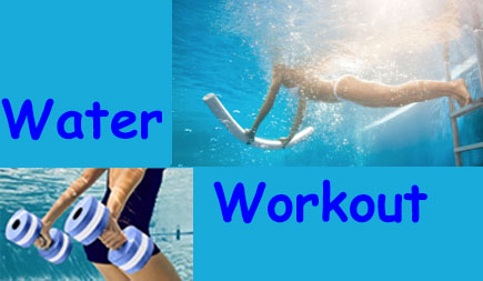 workout in water