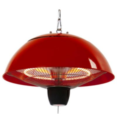outdoor hanging heater for safe entertaining