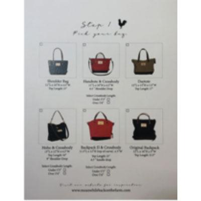custom bag shape choices