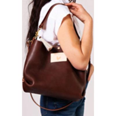 customize leather handbag backpack