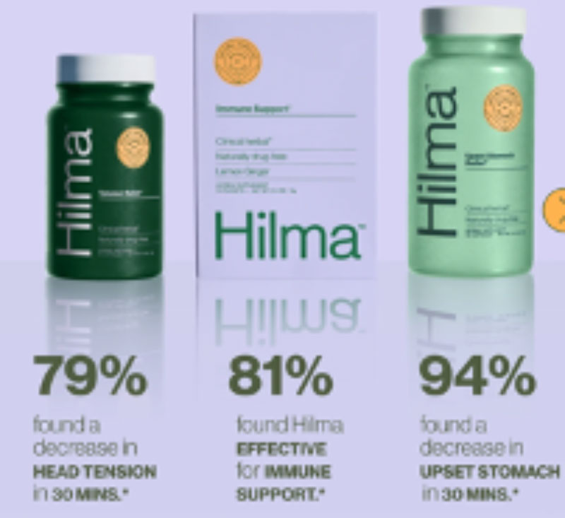 Hilma effective relief for head tension