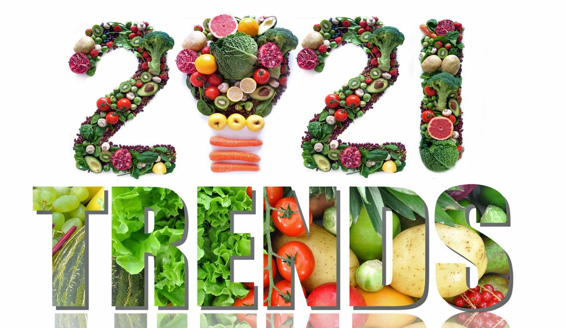 Eating and Food Trends Expected for 2021