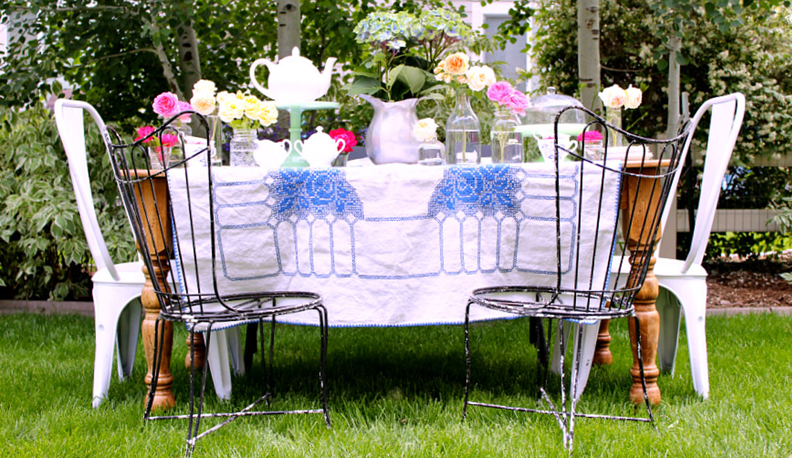 Afternoon Tea in the Garden or Park