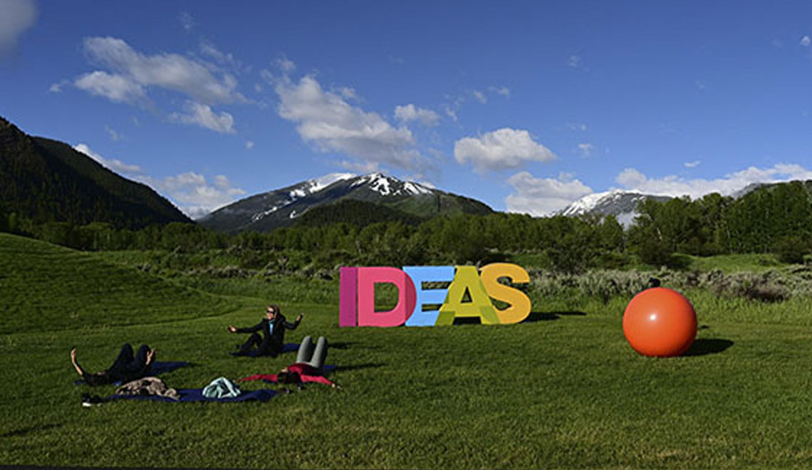 The Aspen Ideas Festival is Free and Virtual This year.