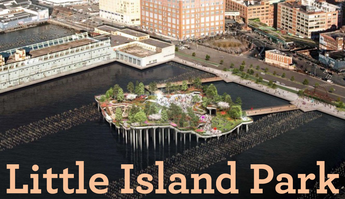 Little Island Park: A Recent Gift to New York City