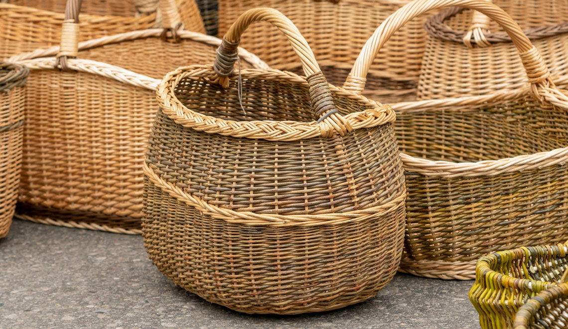 Eye-Catching Baskets for Your Stuff