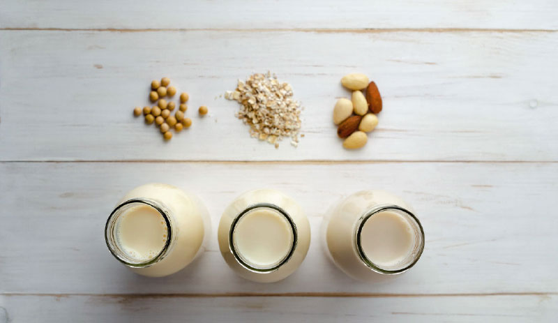 nuts and their milks