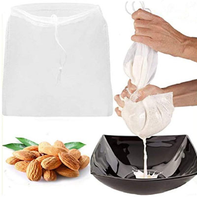 grains and nuts milk bag